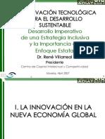 innovacion Tecnologica Para El Desarrollo Sustentable