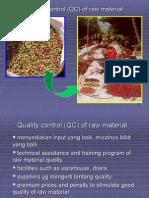 Kualiah 3-QC of Raw Material