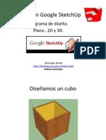 Google SketchUp desde el Inicio
