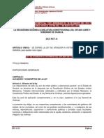 Ley de Atencion a Victimas Del Estado de Oaxaca