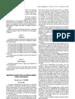 Pescado - Legislacao Portuguesa - 2009/07 - DL nº 152 - QUALI.PT