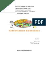 Alimentación balanceada (actividad)