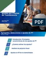Agregados, Deducciones o Ajustes Por Precios de Transferencia