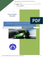 Tugas Merancang Kendaraan (Mazda) - Center of Gravity _ Mohammad Azwar Amat - Academia