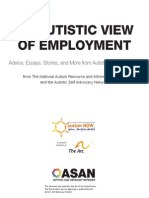 Autistic View of Employment
