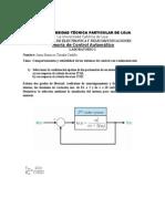 Laboratorio Sistemas de Control Con Realimentación
