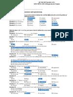 Pracetice Test 3