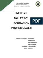 Formacion Profesional II (TALLER N°1) FINAL