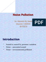 AIR QUALITY AND POLLUTION (TKA 3301)  LECTURE NOTES 10- Noise Polution