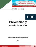 Prevencion y Minimizacion