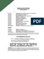 Zoning Ordinance 2013-2023 of Makati City