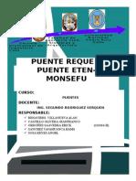 Informe de La Visita de Campo Puentes