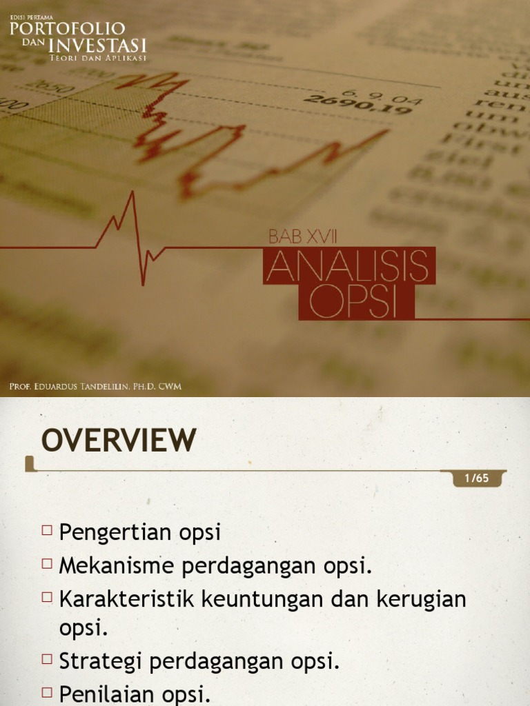 Strategi perdagangan opsi wikipedia