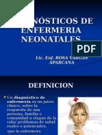 Diagnósticos de Enfermeria Neonatales
