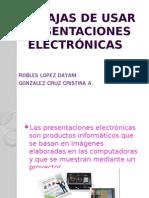 ventajas de usar presentaciones electronicas