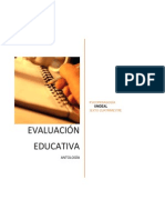 Antología Eval Educativa