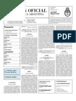 Boletin Oficial 29-03-10 - Segunda Seccion