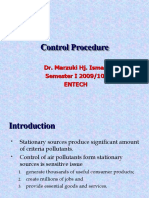 AIR QUALITY AND POLLUTION (TKA 3301)  LECTURE NOTES 11- Control Procedure PM