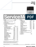 Manual de Serviço Philips Chassis DPTV585 AA 51MP6100D37__51PP9100D37__60PP9100D37