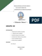 Historia Clinica Grupo 25