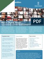 MA in Digital Media