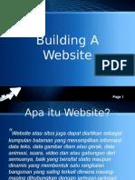 Building a Websiteaa