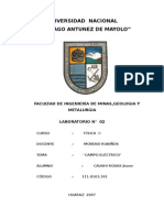 INFORME N°02 DE FISICA III