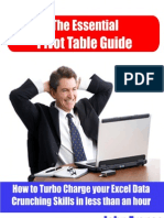 The Essential Pivot Table Guide