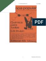 Quimica Para Todos - G B Shulpin