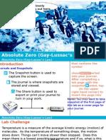 Absolute Zero (Gay-Lussac's Law)