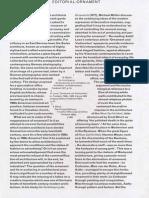 OASE 65 - 2 Editorial