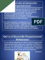 1 Introducción general al Desarrollo Organizacional