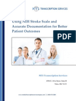 Using NIH Stroke Scale and Accurate Documentation for Better Patient Outcomes