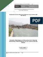 1 Estudio Hidrológico Cuenca Rímac - Volumen I - Texto - Final 2010.doc