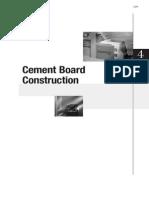 Cgc Construction Handbook Ch4 Cement Board Construction Can en PDF