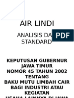 Air Lindi (Analisis Dan Standard)