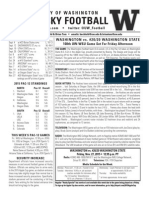 Apple Cup game notes 2015