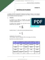 Manual Estatica Fluidos Mecanica Fluidos Termodinamica Tecsup