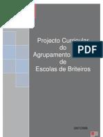 projecto curricular de agrupamento final