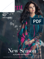 Orient Textiles Mills Winter Collections 2015