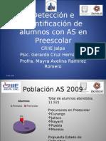 Detección e Identificación de Alumnos con AS