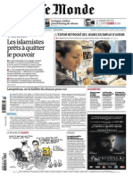 Le Monde - 8 Octobre 2013