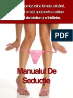 Manualul De Seductie Pdf