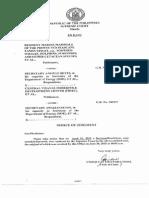 Notice of Judgement-Resident Marine Mammal Et Al .vs. JAPEX Et