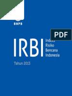 2014-06-03 2013 Indeks Resiko Bencana Indonesia.pdf
