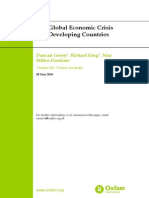 The Global Economic Crisis and Developing Countries