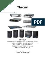 Manuals Techus2015