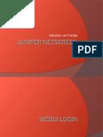 Juniper Presentation