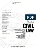 UP 2014 Civil Law