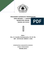 Prog Supervisi Sem Gasal Th 13-14